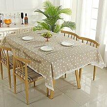 Tischdecke Einfache Frische Haupttischdecke