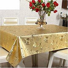 Tischdecke/europäisch,pvc-plastik,[esstisch],tischtuch/wasserdicht],Öl-beweis,einweg,längliche tuch/schreibunterlage/karierten tischdecke-C 137x207cm(54x81inch)