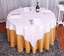 Tischdecke Europäisches Hotel Tischdecke Retro Restaurant Hotel Home Tischdecke Doppel Tisch Tuch Größe Runder Tisch Stoff Stoff ( Farbe : B , größe : 1.6 m round )