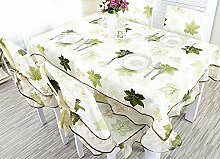 Tischdecke European Pastoral Tischdecke Set Long Tischdecke Round Tischdecke ( Farbe : A , größe : 110*160 )