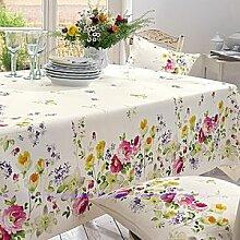 Tischdecke: Farbenpracht für sommerlich gedeckte