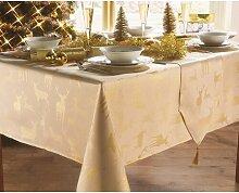 Tischdecke Fiona Die Saisontruhe Größe: 132 cm H