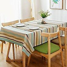 Tischdecke/fluidsysteme,streifen tischdecke/tischtuch/kunst,haushalt tischdecke-A 130x240cm(51x94inch)