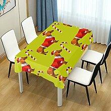 Tischdecke für Esstischdecke mit weihnachtlichem