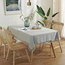 Tischdecke Für Weihnachtsfeier, Einfarbige