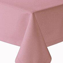 Tischdecke Gastro einfarbig Eckig 130x160 cm Rosa