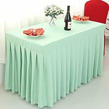 Tischdecke Gepaßte Tisch-Rock-Abdeckung