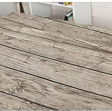 Tischdecke Holzkorn Leinen Imitation Rinde Home Dekoration Tischdecke , B , 140*250cm