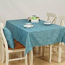 Tischdecke Home Wasserdichte Tischdecke Tuch Tisch Einfache Couchtisch Tuch ( Farbe : A3 , größe : 140*180cm )