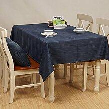 Tischdecke Home Wasserdichte Tischdecke Tuch Tisch Einfache Couchtisch Tuch ( Farbe : A4 , größe : 140*140cm )