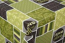 Tischdecke i love Olive Tischtuch Tischwäsche