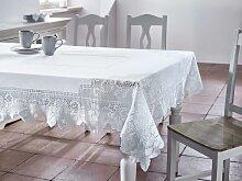 Tischdecke in Weiß ca.130/170cm