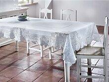 Tischdecke in Weiß ca.220/130cm