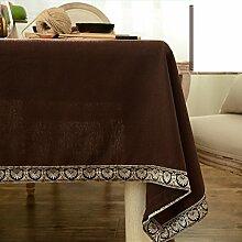 Tischdecke/japanischer stil,aus baumwolle und leinen tischdecken/stoffe/modern,simple,tischtuch/tee tischdecke/längliche tischdecke/tischtuch-D 110x110cm(43x43inch)