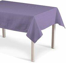 Tischdecke Jupiter Dekoria Farbe: Lavendel