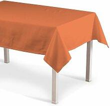 Tischdecke Jupiter Dekoria Farbe: Orange