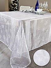 Tischdecke Karola weiß 140x 300