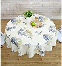 &Tischdecke Kleine Runde Tischdecke Einfache