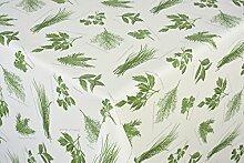 Tischdecke Kräuter grün  Tischtuch Tischwäsche