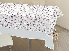 Tischdecke kristall rechteckig 140x240 cm SPIRALE ro