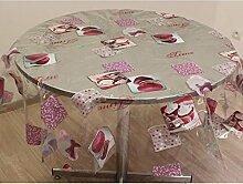 Tischdecke kristall rund TEA TIME
