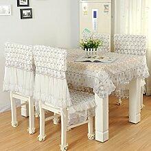 Tischdecke,Lace pastoral fashion tisch tuch,Tee tischdecke,Tischtuch-A 130x180cm(51x71inch)