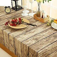 Tischdecke/lÄndlichen],kunst,retro,holz,baumwolle-leinen tischdecke/teetisch,rechteck,bild,foto,hintergrund/tischdecke-A 140x140cm(55x55inch)