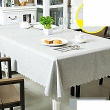 Tischdecke LÄndlichen] Wasserdicht] Stoffe