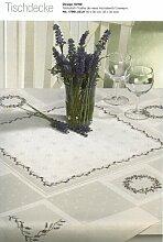 Tischdecke Lavendelranke