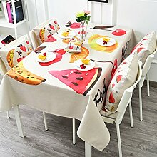 Tischdecke Leinen Tischdecke, Couchtisch Decke