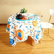 Tischdecke Leinen Tischdecke, Literatur und Kunst