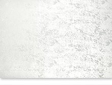 Tischdecke marmoriert eckig rund oder oval Tafeltuch Tischwäsche #1401 (weiß, eckig 135x220 cm)