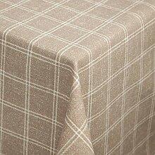 Tischdecke Melody Karo quadratisch, 100x100 cm