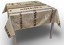 Tischdecke mit Fleckschutz 145x145 cm FACTORY