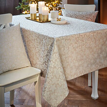 Tischdecke mit glitzernder Sternenvielfalt für