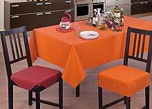 Tischdecke mit Harzschicht Typ Panama 140x140 natur