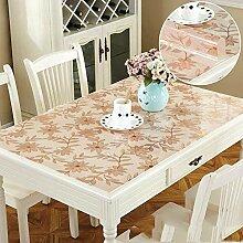 Tischdecke mit PVC-Prägung/quadratische
