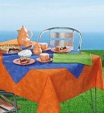 Tischdecke mit Wespenschutz Anit-Wespen Tischdecken blau Gr. 160 x 160 cm