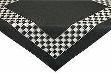 Tischdecke,moderner Leinen Look, grau , pflegeleichte Serie AB420 Mitteldecke 85x85cm , auch in 40x160 ,40x130cm, 85x85cm