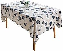 Tischdecke Ocean Baumwolle Und Leinen Tischdecke
