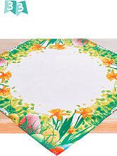 Tischdecke Ostern, weiß