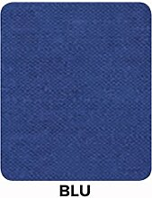 Tischdecke Panama 160 Rotonda blau