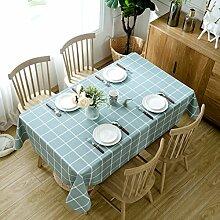 Tischdecke,Pastoral tischtuch tisch matt wasserdicht Öl-Proof anti-Hot-einweg-pvc-plastik für dining coffee rechteckig geburtstag hochzeit jahrestag party picknick-G 137x137cm(54x54inch)