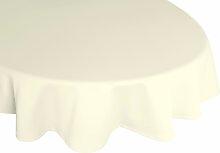 Tischdecke, Peschiera, Wirth 130x190 cm oval,