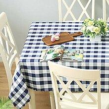 Tischdecke Plaid Stoff Picknick Tischdecke Western