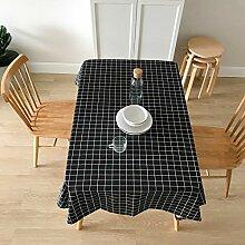 Tischdecke Plaid Tischdecke Wasserdichte Baumwolle