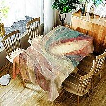 Tischdecke Polyester Tischdecke Wasserdichte
