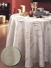 Tischdecke prescilia Gold 150x 350