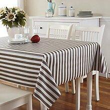 Tischdecke Pvc europäisch,Ländliche tischdecke Wasserdicht],Einweg,Plastiktuch kunst Tischtuch Tischtuch Ölbeweis tischdecke Teetisch matten-A 137x160cm(54x63inch)