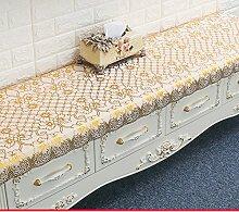 Tischdecke/pvc europäisch,lÄndlichen],rechteck,einweg,wasserdicht tischdecke/teetisch matten/tischdecke-B 49x150cm(19x59inch)